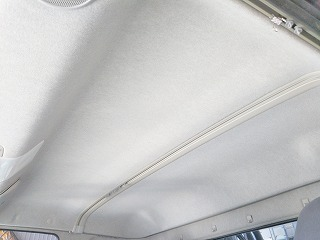 クリーニング後の天井