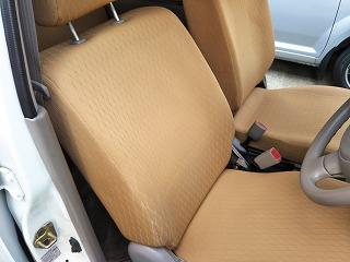 MRワゴンのシート