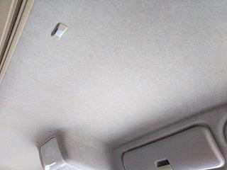 洗浄後の天井