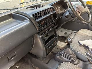 ハイゼットトラックの内装
